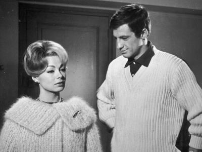 Jean-Paul Belmondo and Dany Robin: La Française et L'Amour, 1960