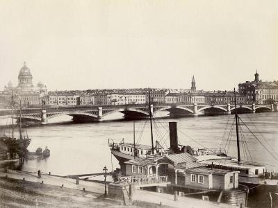 Russia, View of St. Petersburg and the Neva River
