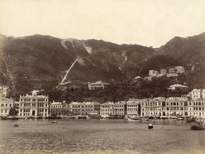 Panorama of Hong Kong (China)