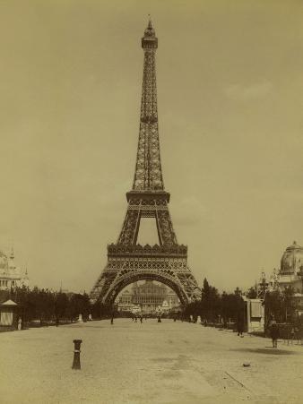 Paris, 1900 World Exhibition, The Eiffel Tower