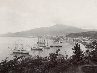 West Indies, View of St. Pierre, Martinique