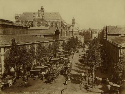 Paris, The Halles and the Pavillon Baltard