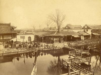 Tea House of Yu Garden in Shanghai (China)