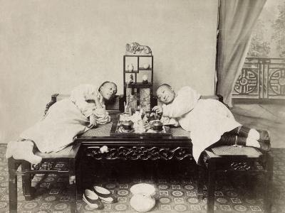 China, Opium Smokers