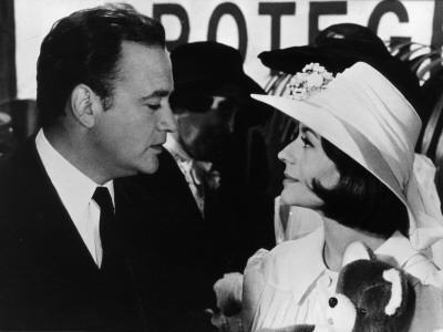 Raymond Pellegrin and Annie Girardot: La Bonne Soupe, 1963