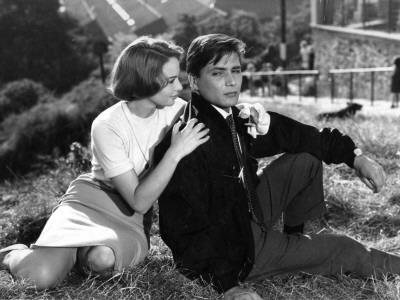 Françoise Arnoul and Jean-Paul Vignon: Asphalte, 1959