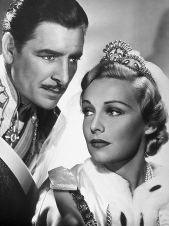 Ronald Colman and Madeleine Carroll: The Prisoner of Zenda, 1937