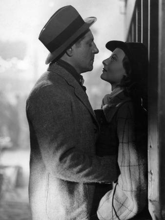 Jean Gabin and Michèle Morgan: Le Quai Des Brumes, 1938
