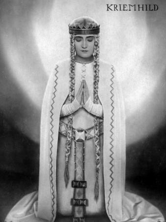 Margarete Schön: Die Nibelungen: Siegfried, 1924