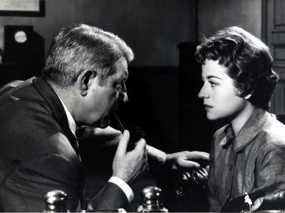 Jean Gabin and Annie Girardot: Maigret Tend Un Piège, 1958