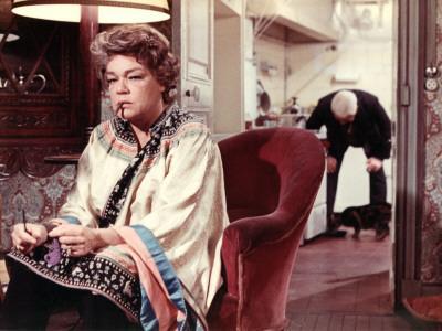Simone Signoret and Jean Gabin: Le Chat, 1971