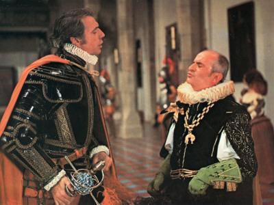 Louis de Funès and Yves Montand: La Folie Des Grandeurs, 1971