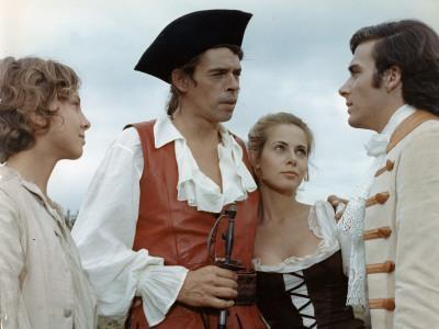 Jacques Brel, Bernard Alane and Claude Jade: Mon Oncle Benjamin, 1969