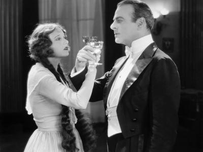 Silent Film Still: Drinking