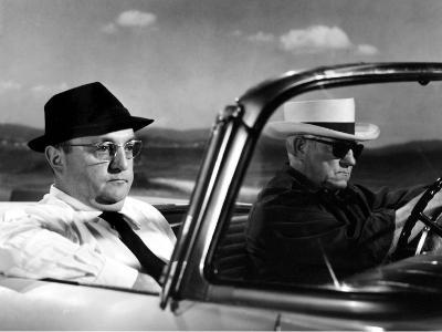 Jean Gabin and Bernard Blier: Le Cave Se Rebiffe, 1961