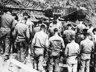 Korean War: Church Service