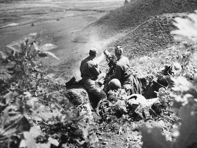 Korean War: Machine Gun
