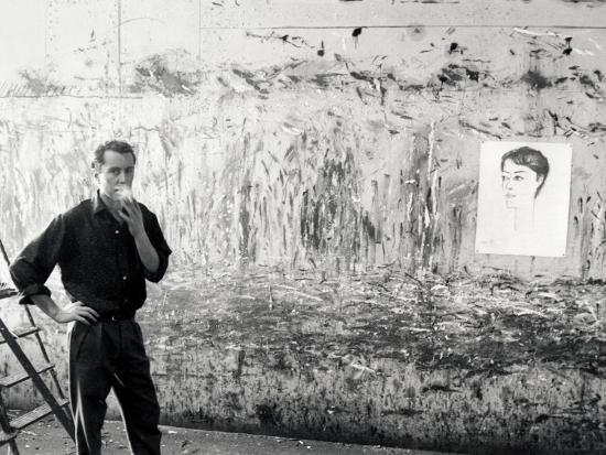 Bernard Buffet, January 29, 1959 Photographic Print By Luc