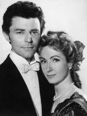 Gérard Philipe and Danielle Darrieux: Pot Bouille, 1957