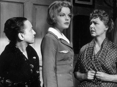 Paulette Dubost and Romy Schneider: Mademoiselle Ange, 1959