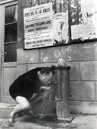 Pierre Brasseur, August 1, 1957