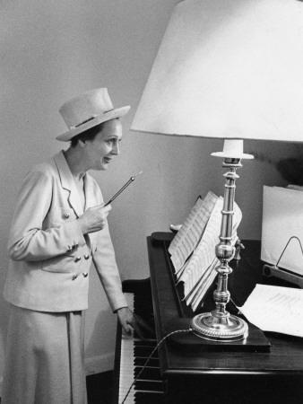 Arletty, April 10, 1952