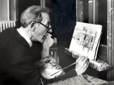 Maurice Utrillo, May 15, 1954
