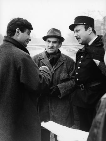 """Louis de Funès, Jean-Claude Brialy and Yves Barsacq (episode """"Bien d'autrui ne prendras""""): Le Diabl"""