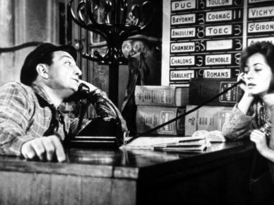 Lino Ventura and Annie Girardot: Le Bateau D'Emile, 1962