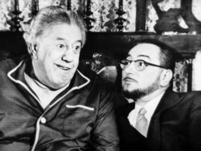 Michel Simon and Pierre Brasseur: Le Bateau D'Emile, 1962