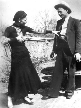 Bonnie And Clyde, 1933