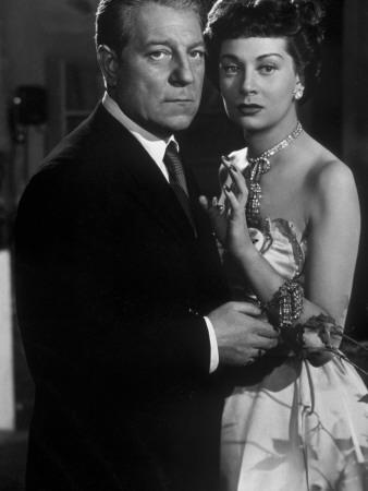 Jean Gabin and Françoise Christophe: Victor, 1951