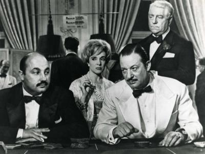Micheline Presle and Jean Gabin: Le Baron de L'Écluse, 1959