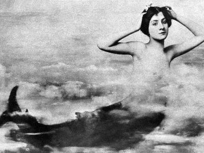 Nude As Mermaid, 1890S