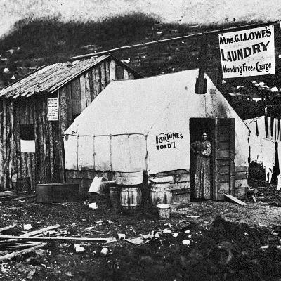 Dawson City, C1900