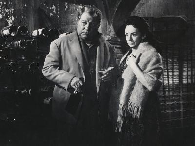 Suzanne Flon and Jean Gabin: Un Singe En Hiver, 1962