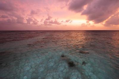 Sunset in Filiteyo, Maldives