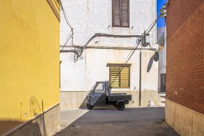Small Street in Favignana, Sicily, Italy