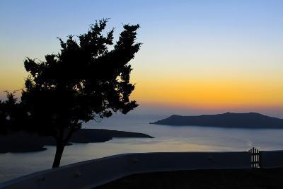 View of the Caldeira, Santorini, Greece