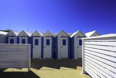 Beach Huts in Polignano-A-Mare, Puglia, Italy