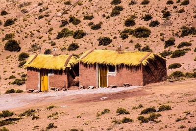 Houses in Machuca, Atacama Desert, Chile and Bolivia