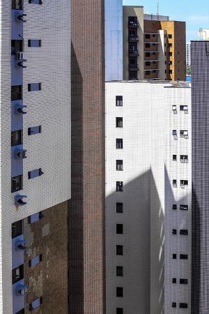Buildings in Fortaleza, Brazil