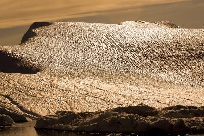 Detail from an Iceberg in Greenland