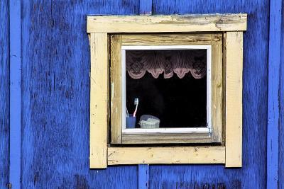Window from a Chalet in the Village Ilulissat, Greenland