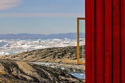 View from the Hotel Arctic in Ilulissat, Greenland