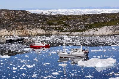 Boats in Greenland