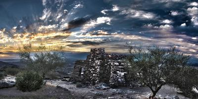 Dobbin's Lookout in South Mountain Park, Phoenix, Arizona,USA