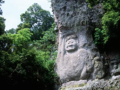 Buddha Image on the Cliff