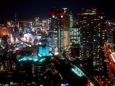 Night View of Shiodome