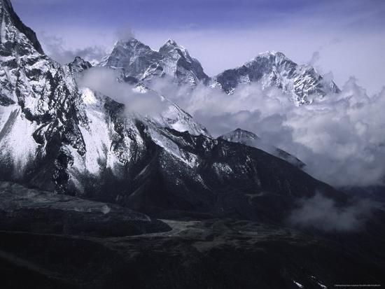 Kang Taiga Landscape Nepal Photographic Print By Michael